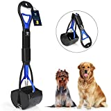 DEGBIT Long Handle Portable Pet Pooper Scooper for Large & Small Dogs, Premium Materials and Professional Ergonomic...