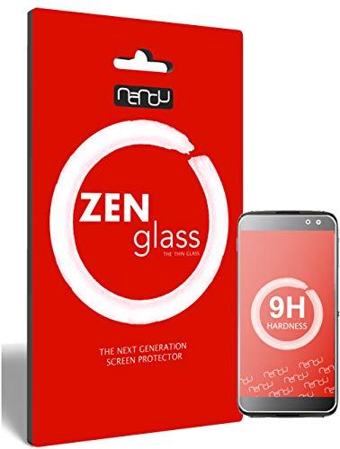 ZenGlass Flexible Glas-Folie kompatibel mit BlackBerry DTEK60 Panzerfolie I Bildschirm-Schutzfolie 9H I (Kleiner Als Das Gewölbte Bildschirm)
