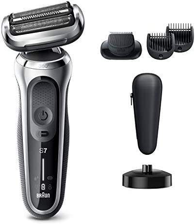 Braun Electric Razor for Men Series 7 7027cs 360 Flex Head Electric Shaver with Beard Trimmer product image