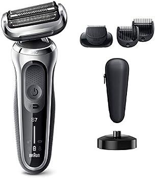 Braun Series 7 7027cs 360 Flex Head Electric Shaver With Beard Trimmer