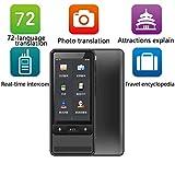 SDRFSWE WiFiTraductor Electronico, Portátil 3.5Pantalla Táctil Traductor Inteligente Bidireccional D...