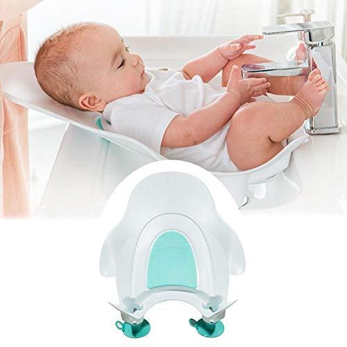 Per Asiento para Bañera Bebés de Lavabo Bañera Portátil para Lavar Caderas con Ventosa de Fijar Bañera Bebé Peuqueño