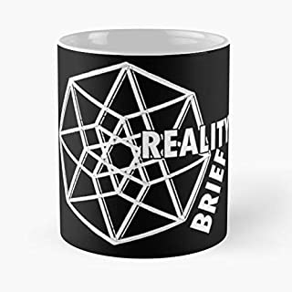 Reality Brief Swag - White Classic Mug The Funny Coffee Mugs For Halloween, Holiday, Christmas Party Decoration 11 Ounce Leinstudio.