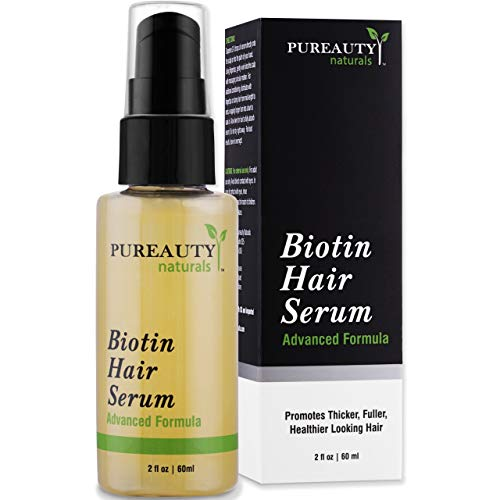 Biotin Hair Growth Serum Advanced Topical Formula To Help Grow Healthy, Strong Hair Suitable for Men...