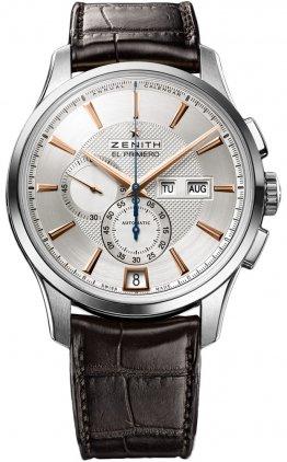 Zenith El Primero Captain Winsor 03.2070.4054/02.C711 - Reloj para Hombre con Calendario Anual