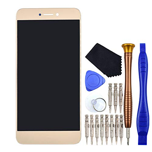 VEKIR Oro Honor 8 Lite Reparación de la Pantalla LCD de la Pantalla táctil del digitalizador reemplazo Compatible con Huawei P8 Lite 2017 P9 Lite 2017 Nova Lite GR3 2017 PRA-TL10 PRA-TL20