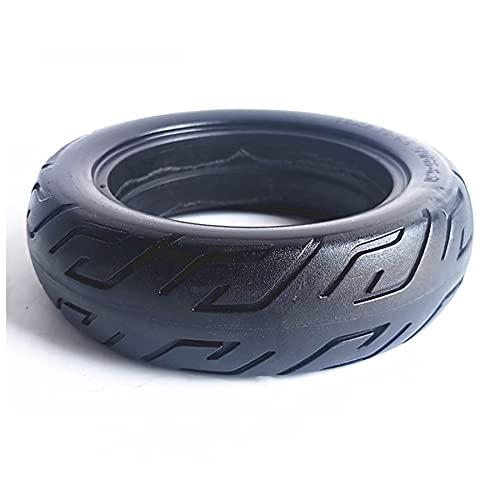 DPGPLP Neumático de Scooter eléctrico de 10 Pulgadas, 10X2.70-6.5 70/65-6. Neumático sólido, Antideslizante, a Prueba de pinchazos, Libre de Mantenimiento, Caucho Resistente al Desgaste,Pack of 1