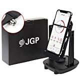 (JGP) LINEサポート 日本語説明書 付き 自動で歩数を稼ぐ 振り子 回転スイング 軸受ベアリング 2台同時 前後スイング スマホスインガー JGP-004