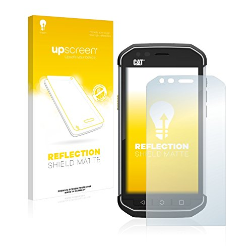 upscreen Entspiegelungs-Schutzfolie kompatibel mit Caterpillar Cat S40 – Anti-Reflex Bildschirmschutz-Folie Matt