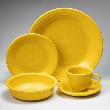 Fiesta 20-pc. Dinnerware Set, Sunflower.