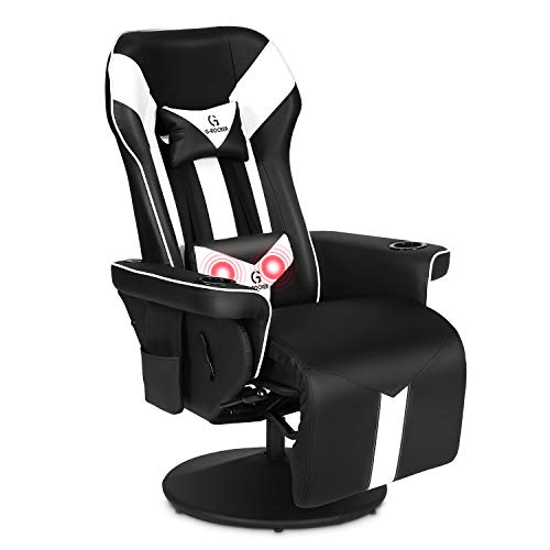 G-ROCKER King Throne Video Gaming Recliner Chair, Ergonomic...