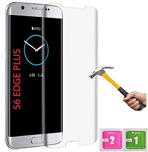 ino Panzerglas passend für Samsung Galaxy S6 Edge+ / S6 Edge Plus volle Abdeckung transparent Full Schutzfolie Glasfolie 9H Härte Handyschutz 3D Schutzglas