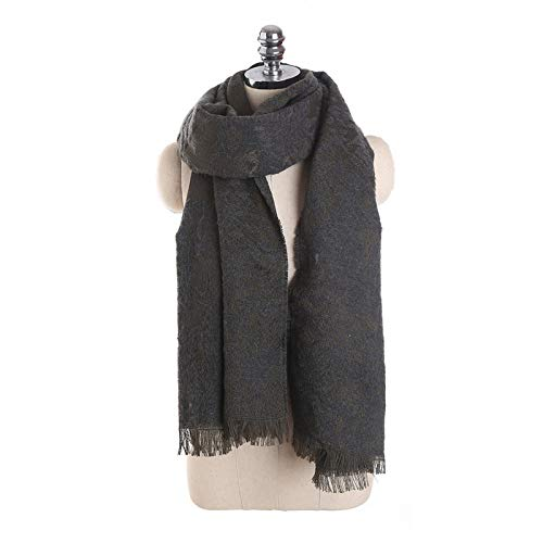 WDDGPZWJ Winter 3D Eo Blume Schal Frauen National Wind Warm Zwei Gebrauchte Quaste Schals Wraps Und Schals Schiff