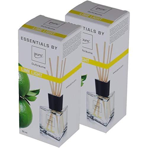 Essentials by ipuro Lime Light 50ml Raumduft (2er Pack)