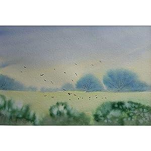 """""""Natur in ihrer Zartheit"""" / Aquarellbild / 30 x 40 cm (Bild 19 x 30 cm)"""