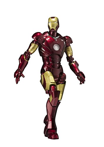 S.h.figuarts iron man Mark 3 155 mm ABS &PVC & die-cast action figure