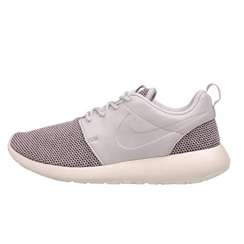 Nike Womens Roshe One Knit Fabric Low Top Lace Up Walking Shoes, Grey, Size 11.0