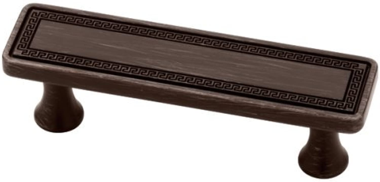 Liberty P15685C-VBR-C 76mm Greek Key Cabinet Hardware Handle Pull Classic Tapestry by Liberty