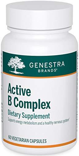 Genestra Brands - Active B Complex - Complete B Vitamin Complex Supplement - 60 Capsules