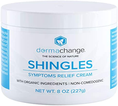 Natural Shingles Treatment and Relief Cream - with Manuka Honey - Shingle Nerve Pain Ointment - Natural Moisturizer for Face and Body - Stops Shingle Breakouts, Burning, Scar and Itchy Dry Skin (4oz)