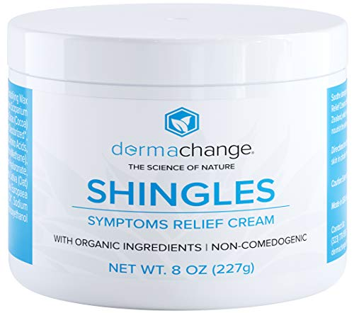 Organic Shingles Treatment and Relief Cream - with Manuka Honey - Shingle Nerve Pain Ointment - Natural...