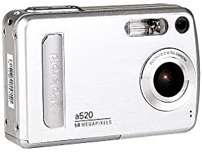 POLAROID A520-5.0 MEGAPIXEL Digital Camera with 4X Zoom. Silver for Anyone.