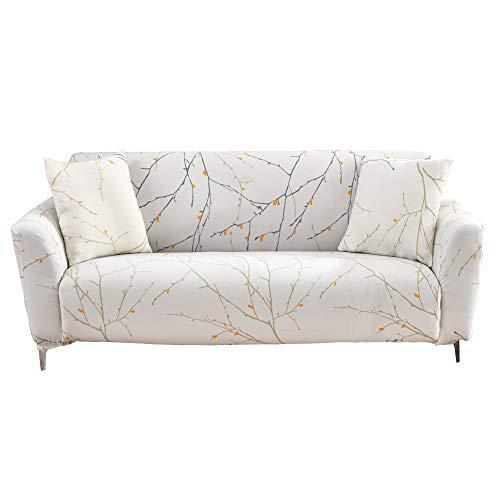 High Stretch Jacquard Sofabezug 1/2/3/4 Sitzer 4 Jahreszeiten Universal Sofabezug Elastischer Sofabezug Anti-Milbe & Anti-Falten,2,2seater(145 * 185m)