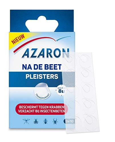 Azaron pleister na de beet  - Verzacht bij insectenbeten -  kleine transparante pleisters die verzachting bieden bij muggen, insectenbeten en -steken - 30 pleisters
