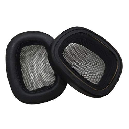 prasku Almohada de Repuesto para Almohadilla de Oreja DIY para Auriculares de Juego Logitech G433 Nuevo