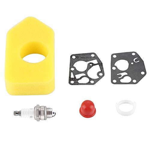 Biitfuu Luftfilter-Zündkerzensatz Vergaser-Membrandichtsatz Kleinmotoren Ersetzen für 281028 495770 795083 694394 494408