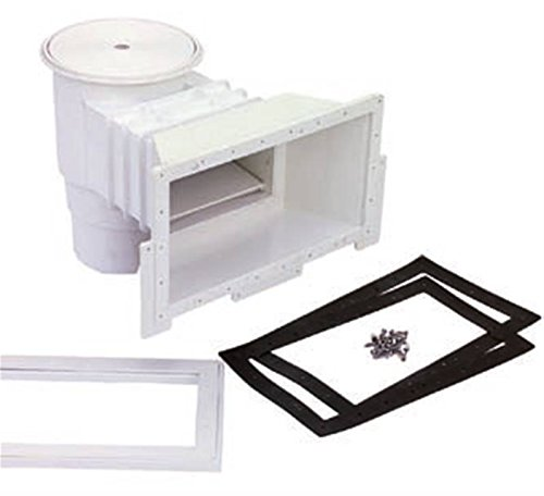 Productos QP Skimmer 360 Mm Liner Tapa Redonda, Negro, 49x57x45 cm, 500181