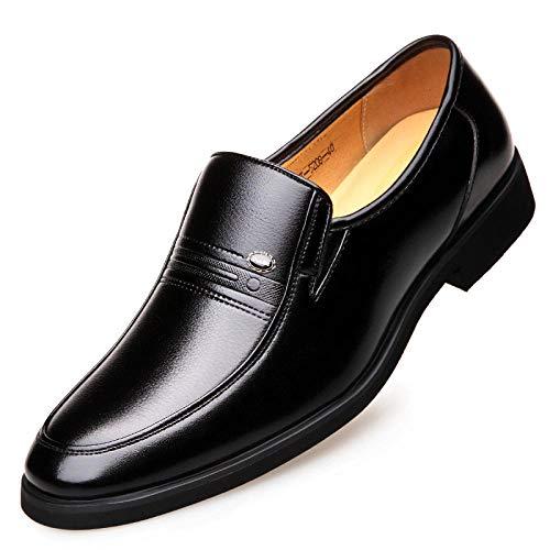 Scarpe Stringate Basse Uomo Scarpe Otoño E Invierno Zapatos De Cuero Casuales De Negocios para Hombres Juegos De Zapatos De Cuero para Hombres Zapatos De Hombres-38