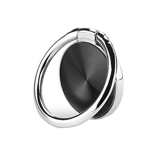 Rotación de 360 grados teléfono celular anillo agarre soporte tabletas metal magnético coche montaje conveniente y práctico