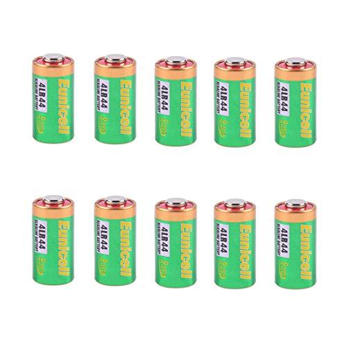 4LR44 6 V Anti-Bell Halsband Batterien – langlebig Ersatz-Akku – Sicher für kleine Vibro, Statische Schock, und Citronella Hund Training Halsbänder – Set von 10