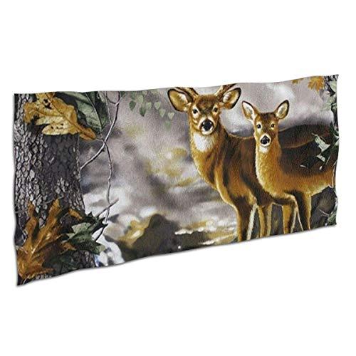 Toallas Bathroom Towels Toalla De Baño Toalla de mano de lavado de ciervo de camuflaje de árbol real altamente absorbente Shower Towels 80X130CM