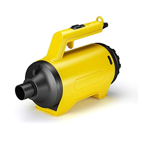 Multi-Use Electric Computer Duster, Dryer, Air Pump Blower,Canned Air Replacement. (Yellow)
