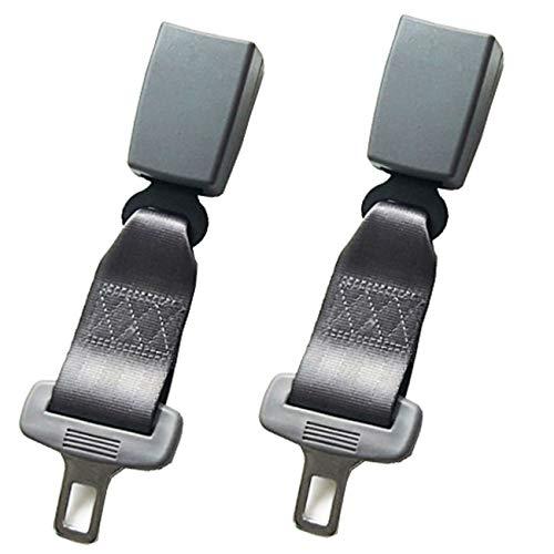 Cinturon de seguridad丨Cinturón de coche丨Embarazadas ancianos asientos Niño obesidad丨Homologado(23CM) (Gris)