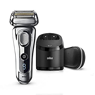 Braun Series 9 Electric Shaver for Men 9296cc, Wet and Dry, Integrated Precision Trimmer, Rechargeable and Cordless Razor ( UK 2- Pin Bathroom plug) from Procter & Gamble