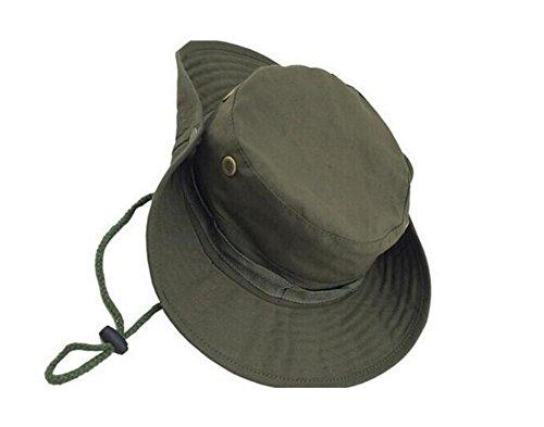 Leisial Protectora del Sol Sombrero Deporte al Aire Libre Anti-UV Hat Cap Pescador Gorra de Camuflaje Verano Calor para Adulto Unisexo