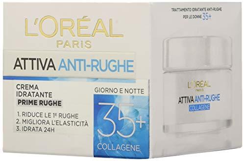 L'Oréal Paris neu laden Aktive Anti-Falten-Behandlung Gesichtscreme Feuchtigkeitscreme ersten Falten, 35 50 Ml Paket 6]