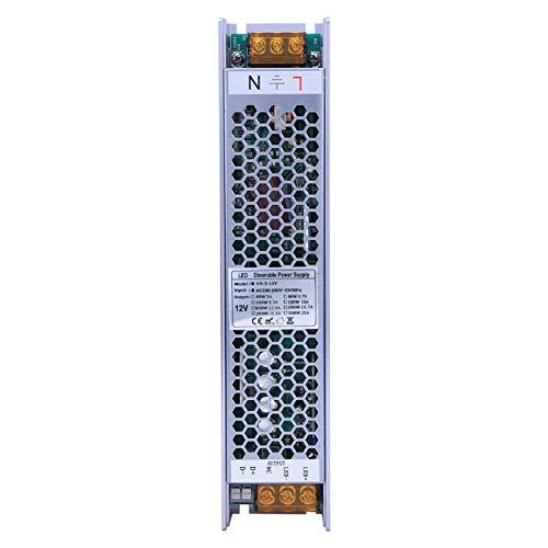 Fuente de alimentación regulable de la fuente de alimentación del interruptor LED confiable para la electrónica(12V/10A)