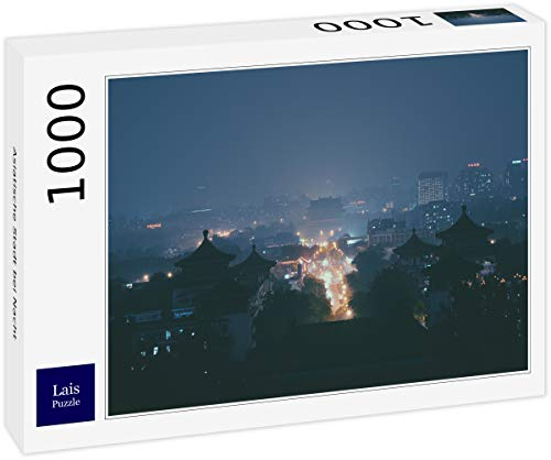 Lais Puzzle Asiatische Stadt bei Nacht 1000 Teile