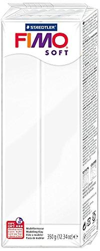FIMO soft Großblock 350gr. Farbe weiss