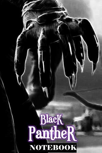 Black Panther: Wakanda Forever; Notebook Journal 6\ x 9\