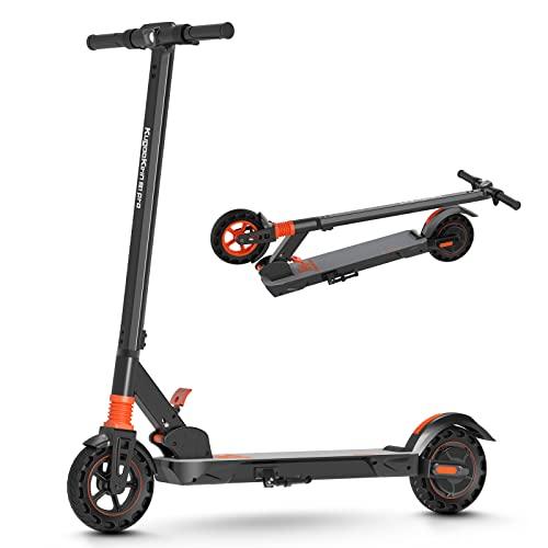 Patinete Eléctrico, Velocidad Máxima 30 Km/h 30 Km Alcance, Batería 7,5AH 350W Motor 8 Pulgadas Ultraligero Scooter Electrico Plegable para Adultos y Adolescentes - KS1 Pro
