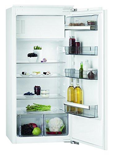 AEG SFB61221AF Kühlschrank mit Gefrierfach / Einbaukühlschrank mit Abtauautomatik / 4-Sterne-Gefrierfach / 166L Kühlschrank / 14L  Gefrierfach / A++ (172 kWh/Jahr) / Einbau-Höhe: 122,5 cm / weiß