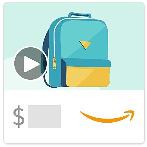 Amazon eGift Card - Back 2 School (Animated)