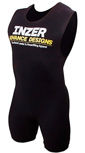 Inzer Power Compression Singlet - Powerlifting Weightlifting Performance (Large)