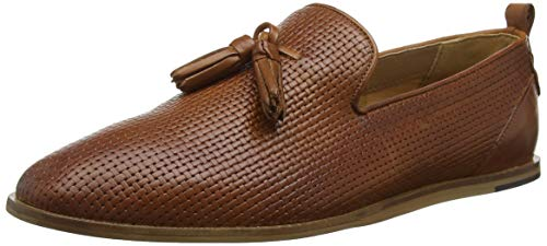 H by Hudson Comber Leather, Mocassins Homme, Marron Clair 24, 46