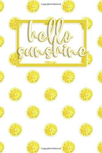 Lemon notebook and journal